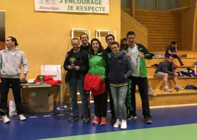 Chavanay 2 vainqueur du tournoi intermédiaire